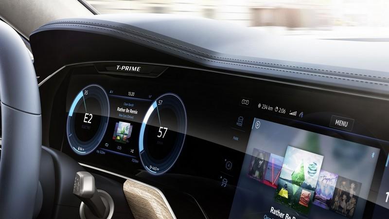 Foto Interiores Volkswagen T Prime Concept Gte Concept 2016