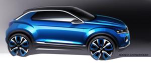 Foto Exteriores (3) Volkswagen T-roc Prototipo 2014