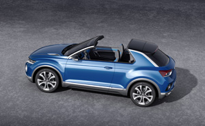 Foto Exteriores (5) Volkswagen T-roc Prototipo 2014
