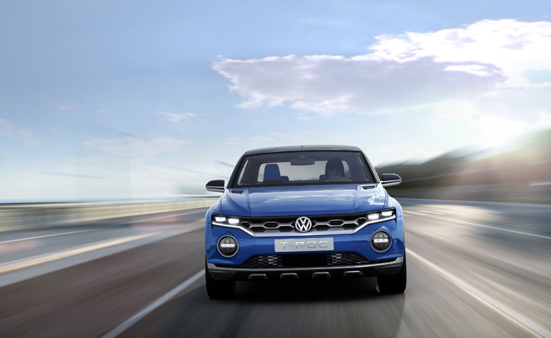 Foto Delantera Volkswagen T Roc Prototipo 2014