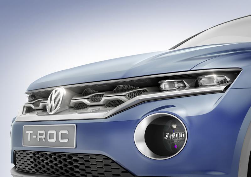 Foto Detalles Volkswagen T-roc Prototipo 2014