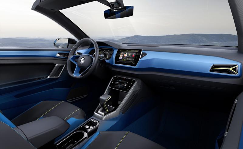 Foto Interior Volkswagen T Roc Prototipo 2014