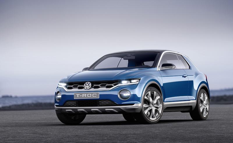 Foto Perfil Volkswagen T Roc Prototipo 2014