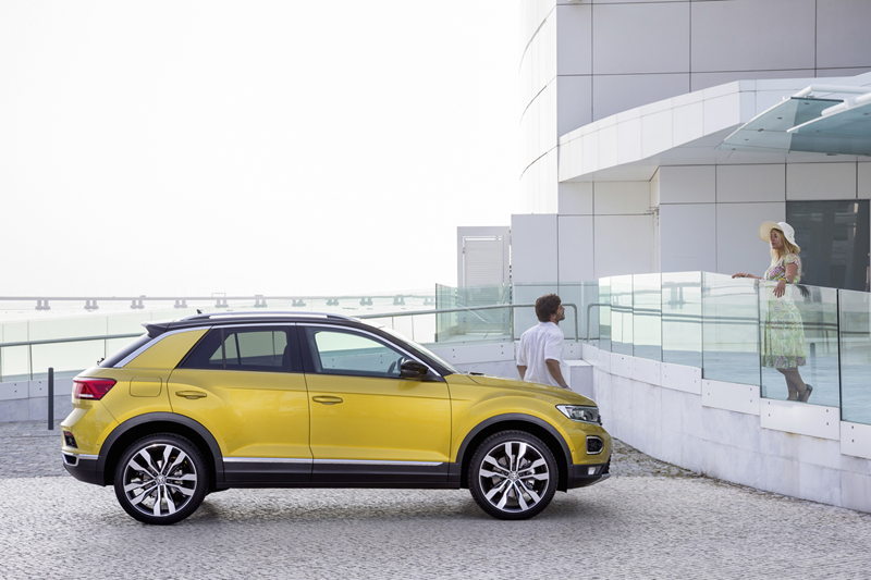 Volkswagen T-Roc, foto lateral