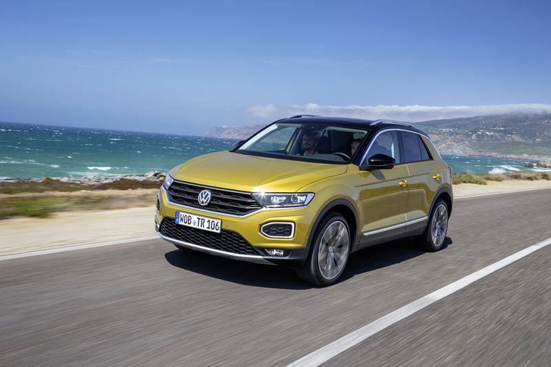 Volkswagen T-Roc, foto delantera