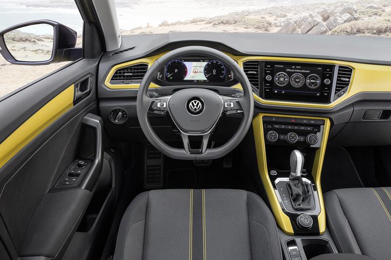 Volkswagen T-Roc, foto salpicadero
