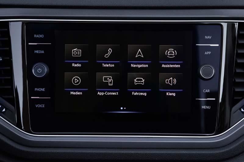 Volkswagen T-Roc Cabrio, foto pantalla táctil