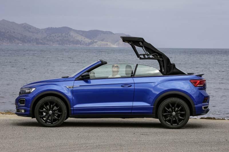 Volkswagen T-Roc Cabrio, foto capota del lona