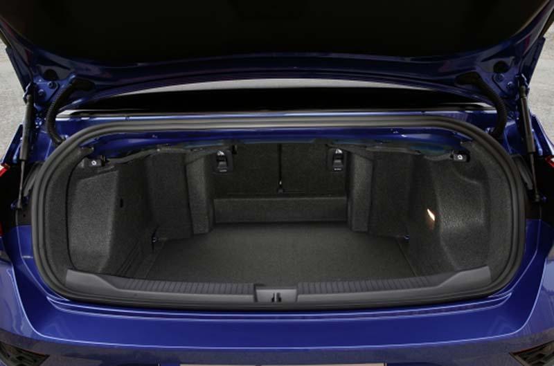 Volkswagen T-Roc Cabrio, foto maletero