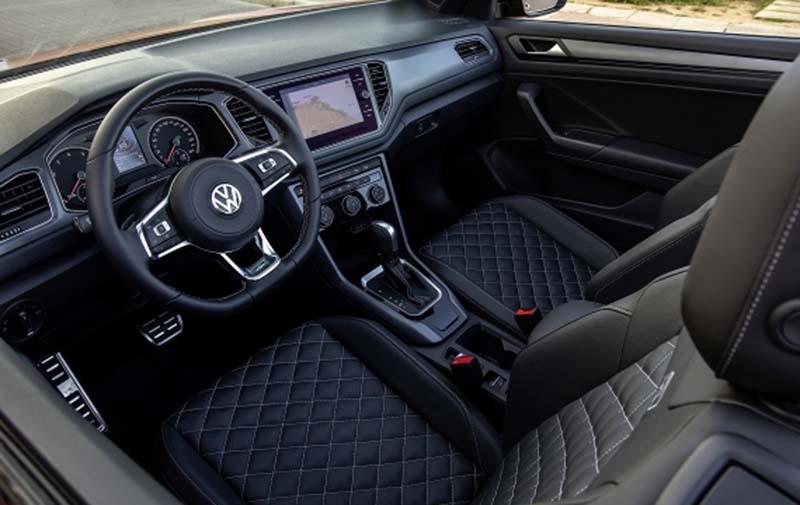 Volkswagen T-Roc Cabrio, foto salpicadero