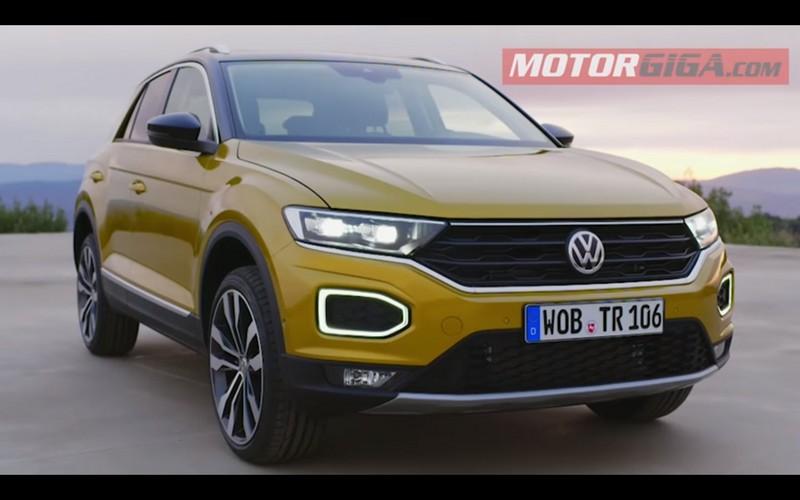 Foto Delantera Volkswagen T Roc Prueba Suv Todocamino 2018