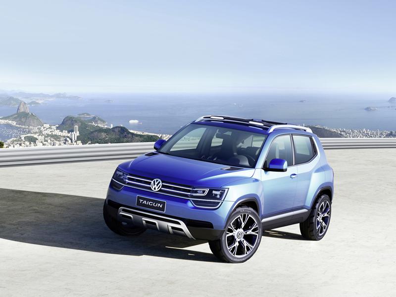 Foto Perfil Volkswagen Taigun Suv Todocamino 2012
