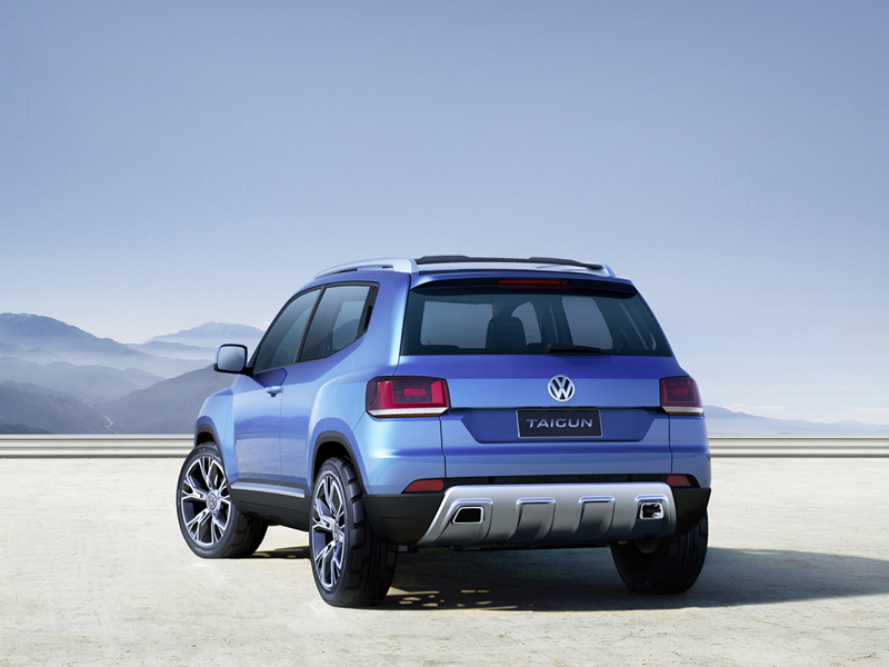 Foto Trasera Volkswagen Taigun Suv Todocamino 2012
