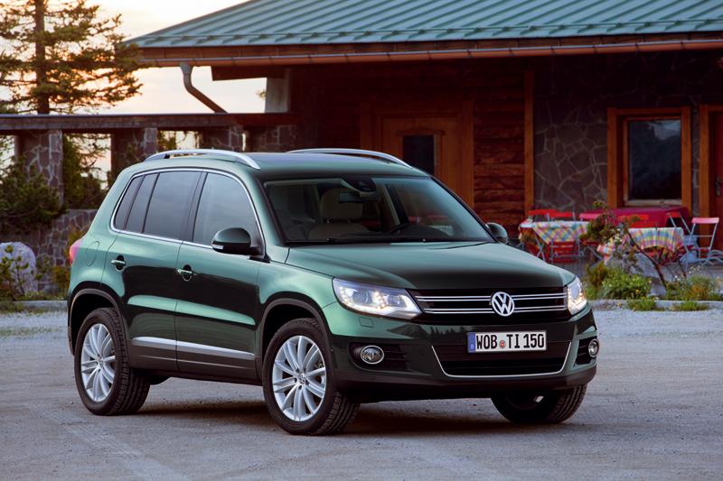 Foto Delantera Volkswagen Tiguan Suv Todocamino 2012