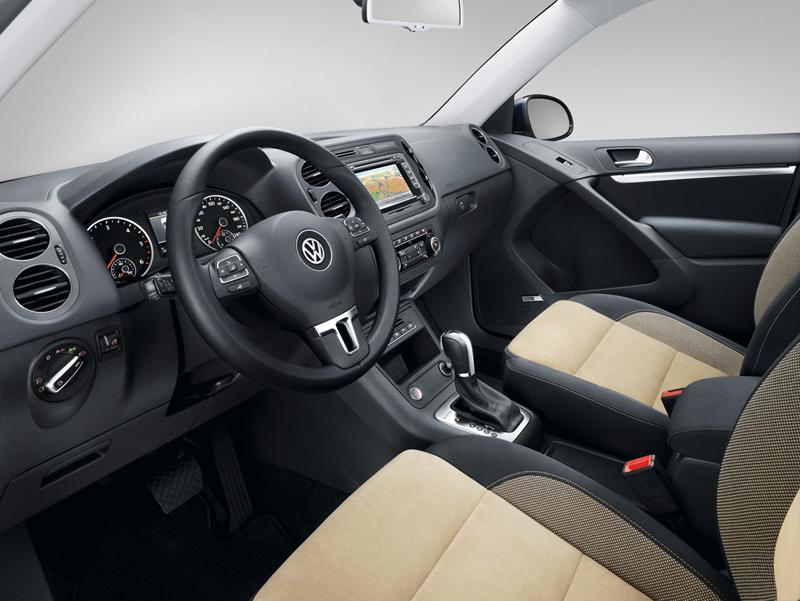 Foto Interiores Volkswagen Tiguan Suv Todocamino 2012