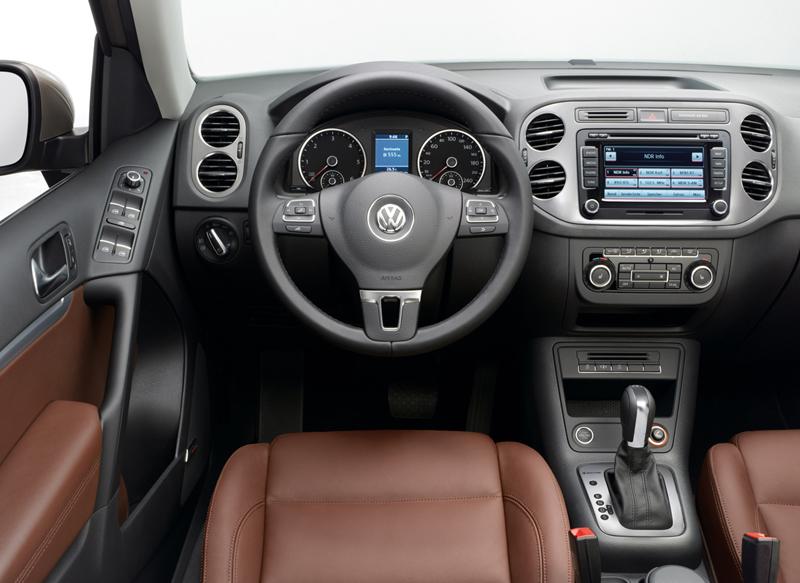 Foto Salpicadero Volkswagen Tiguan Suv Todocamino 2012