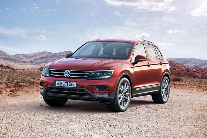 Foto Exteriores Volkswagen Tiguan Suv Todocamino 2016
