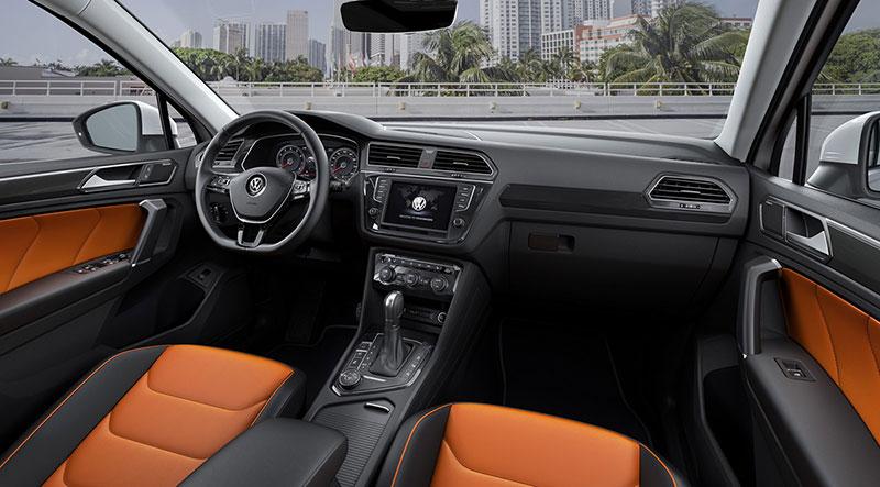 Foto Interiores Volkswagen Tiguan Suv Todocamino 2016