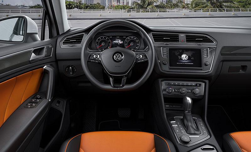 Foto Salpicadero Volkswagen Tiguan Suv Todocamino 2016