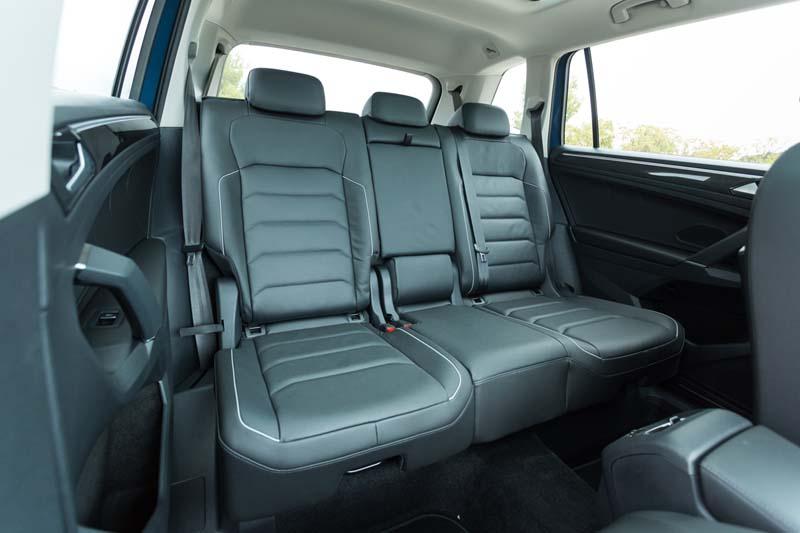 Volkswagen Tiguan Allspace, foto tercera fila de asientos