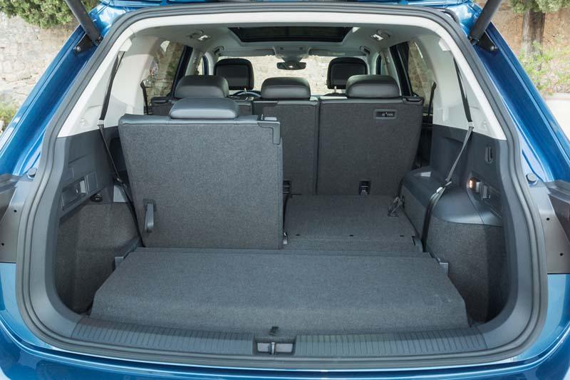 Volkswagen Tiguan Allspace, foto maletero