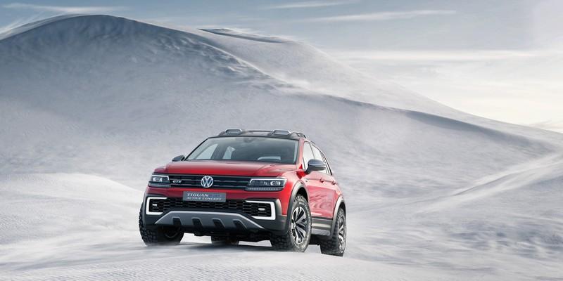 Foto Delantera Volkswagen Tiguan-gte-active-concept Concept 2016