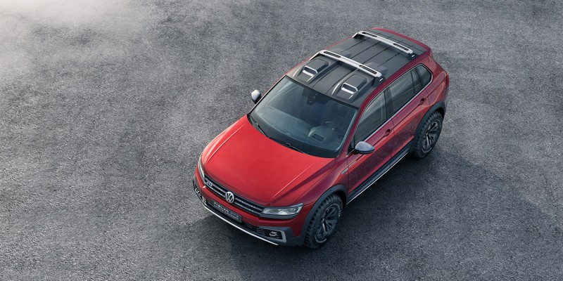 Foto Exteriores Volkswagen Tiguan Gte Active Concept Concept 2016
