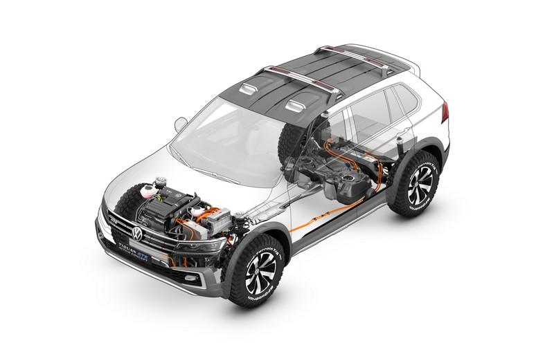 Foto Tecnicas Volkswagen Tiguan Gte Active Concept Concept 2016