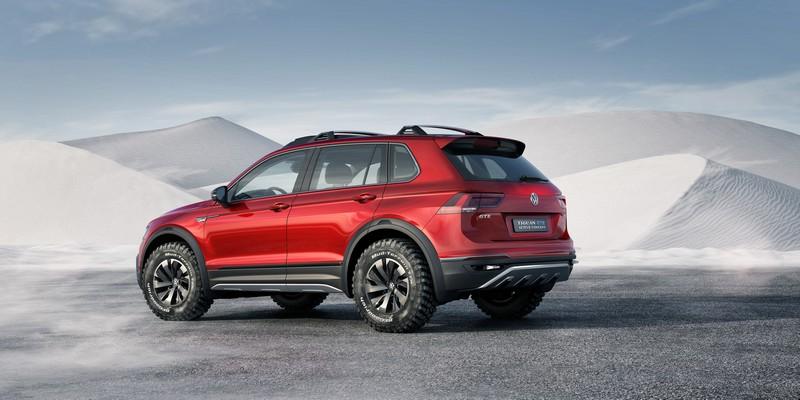 Foto Trasera Volkswagen Tiguan Gte Active Concept Concept 2016