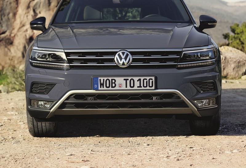 Foto Delantera Volkswagen Tiguan Offroad Suv Todocamino 2018