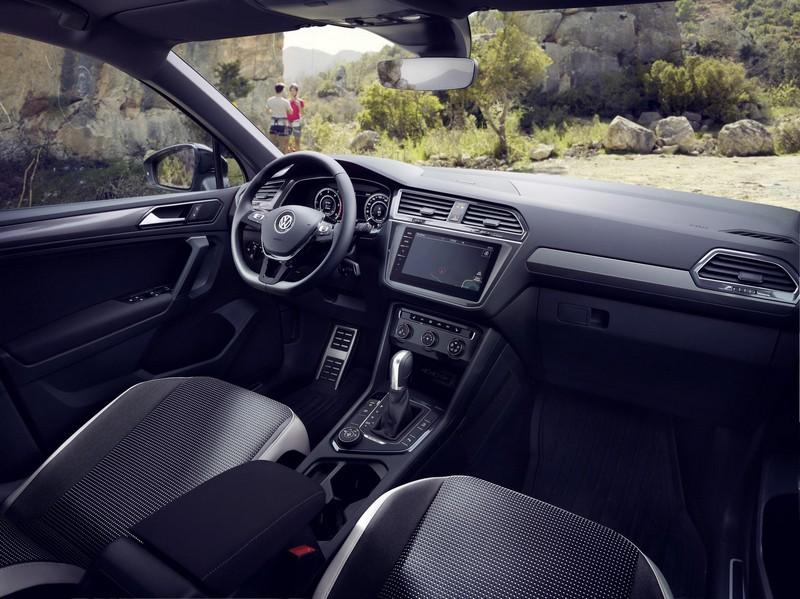 Foto Salpicadero Volkswagen Tiguan Offroad Suv Todocamino 2018