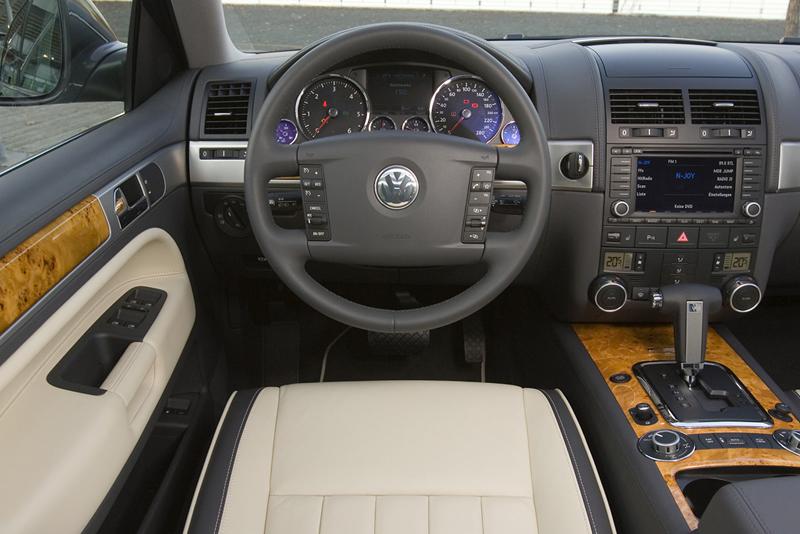 Foto Interiores Volkswagen Touareg Suv Todocamino 2008