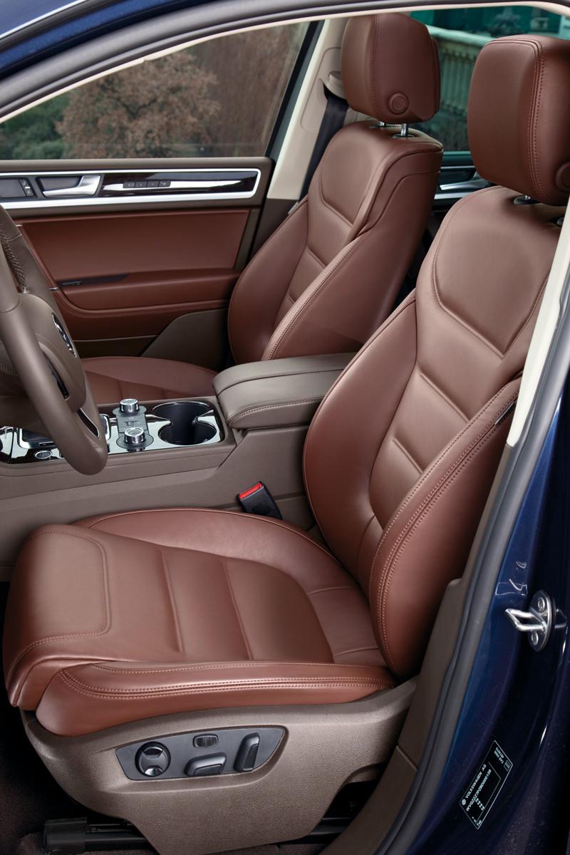 Foto Interiores Volkswagen Touareg Suv Todocamino 2010