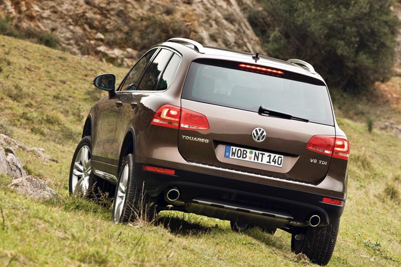 Foto Trasero Volkswagen Touareg Suv Todocamino 2010