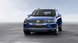 Foto Delantera Volkswagen Touareg Suv Todocamino 2014