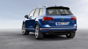 Foto Trasera Volkswagen Touareg Suv Todocamino 2014