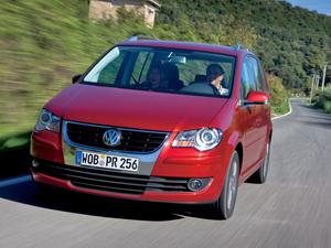 Foto Delantero Volkswagen Touran Monovolumen 2007