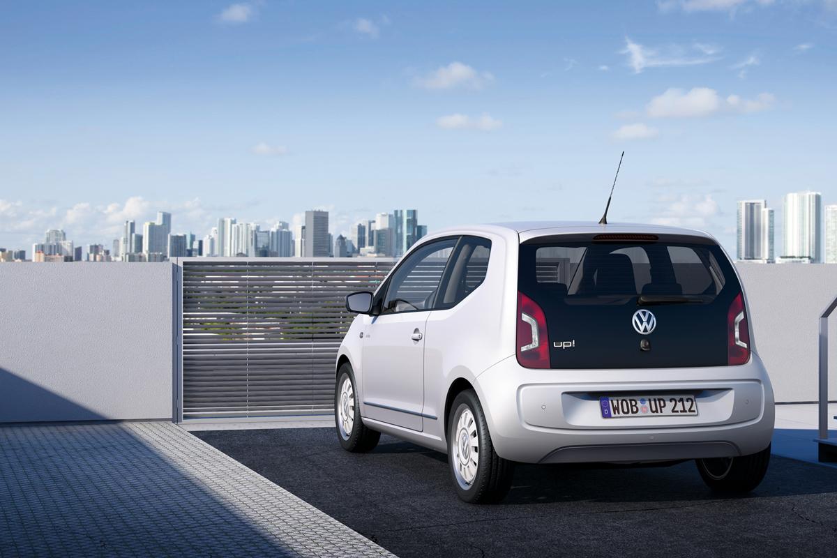 Fondo Pantalla Volkswagen Up Dos Volumenes 2011 Trasera