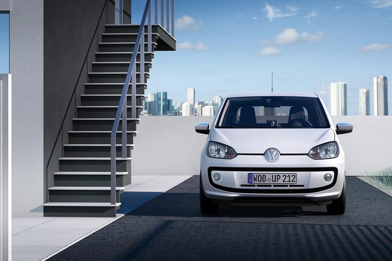 Foto Exteriores_01 Volkswagen Up Dos Volumenes 2011