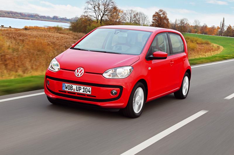 Foto Delantera Volkswagen Up Eco Dos Volumenes 2012