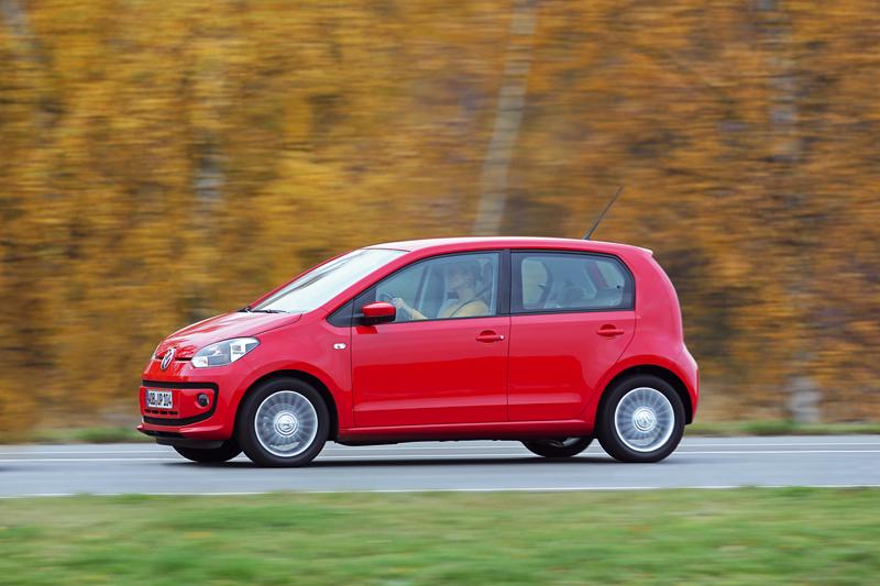 Foto Lateral Volkswagen Up Eco Dos Volumenes 2012