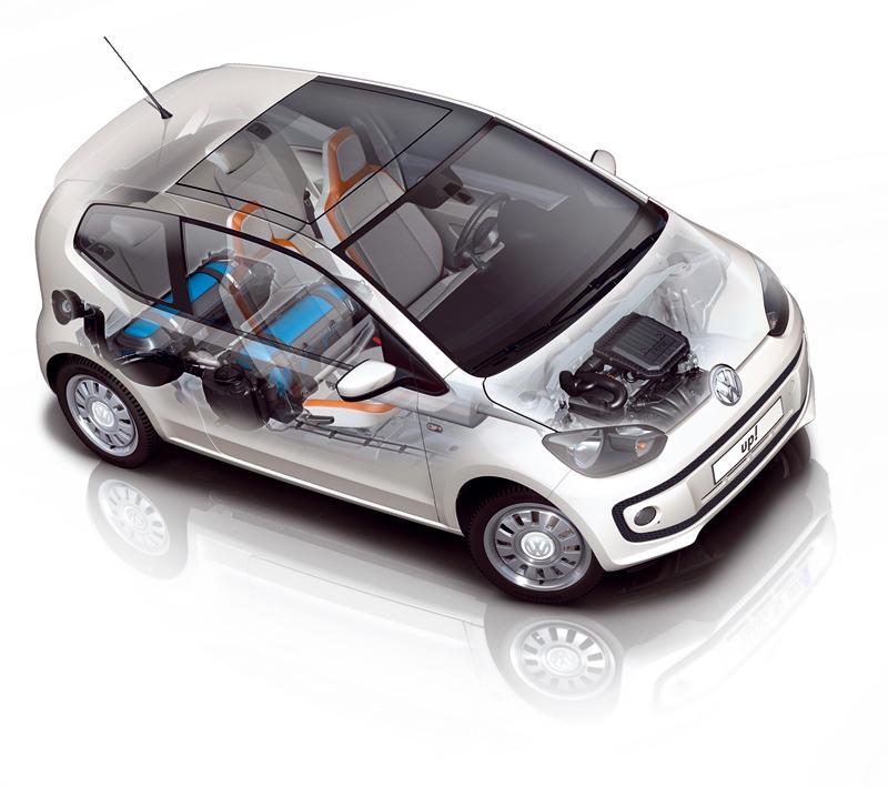 Foto Tecnicas Volkswagen Up Eco Dos Volumenes 2012