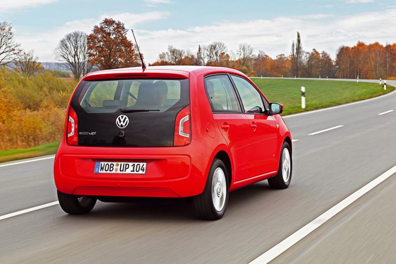 Foto Trasera Volkswagen Up Eco Dos Volumenes 2012