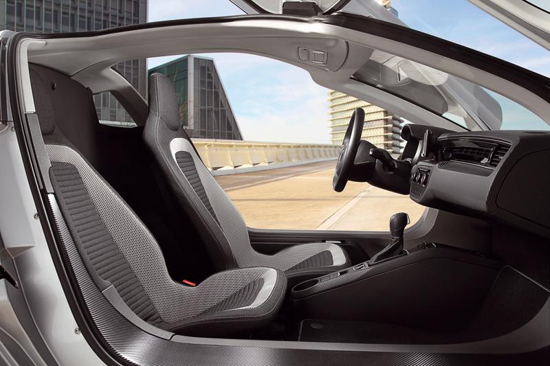 Foto Interiores Volkswagen Xl1 Cupe 2013