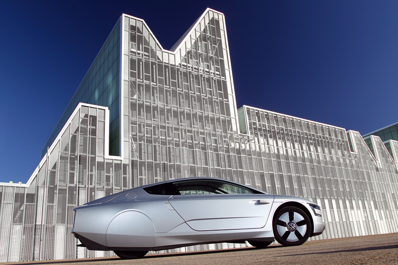 Foto Lateral Volkswagen Xl1 Cupe 2013