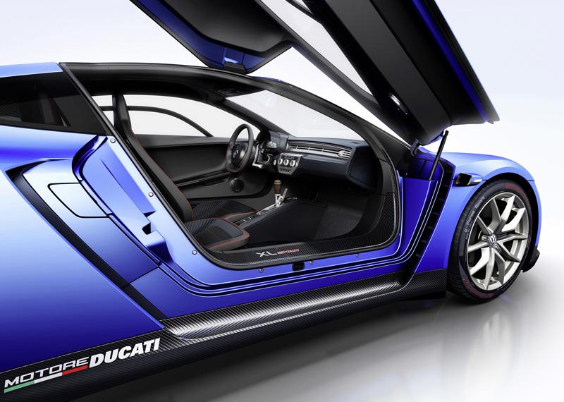 Foto Exterior Volkswagen Xlsport Concept 2014