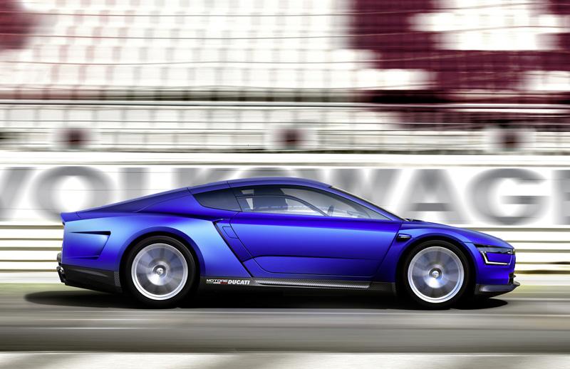 Foto Lateral Volkswagen Xlsport Concept 2014