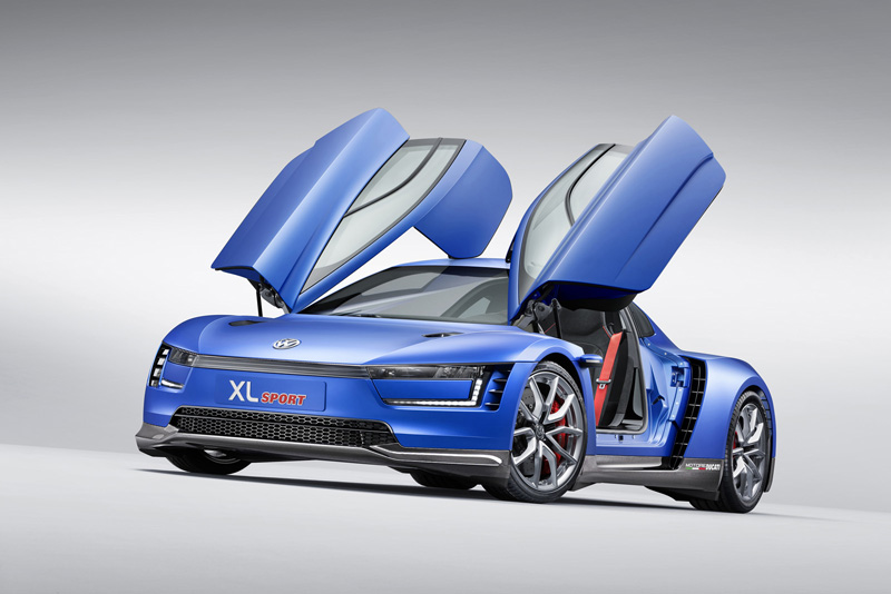 Foto Perfil Volkswagen Xlsport Concept 2014
