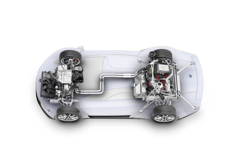 Foto Tecnicas Volkswagen Xlsport Concept 2014