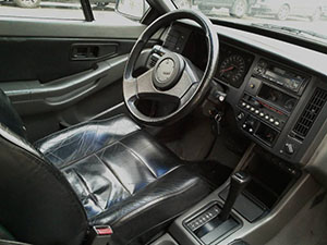 Foto Interiores Volvo 480-se Cupe 1986